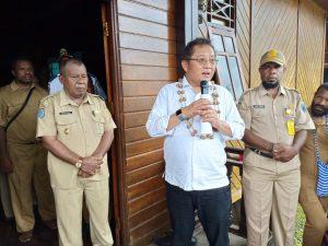 Kunjungan Menteri Kominfo Ke Mamberamo Raya